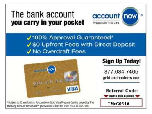 ACCOUNTNOW SIGNUP